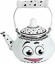 DLMYZ Emaille Kaffeekanne Hand Teekessel
