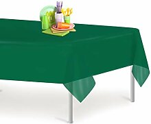 Dluxware Einweg-Tischdecke, Kunststoff, 137 x 274