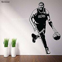 DLYD Basketballspieler Vinyl Wandkunst Aufkleber