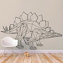 DLYD Dinosaurier Wand Vinyl Aufkleber Stegosaurus