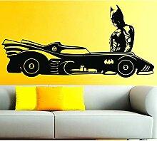 DLYD Fledermaus Comic Wandkunst Aufkleber