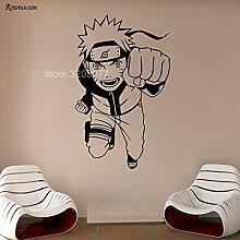 DLYD Japanischer Cartoon Wand Vinyl Aufkleber