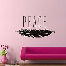 DLYD Peace Vinyl Wandtattoos Wohnkultur Wohnzimmer