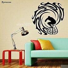 DLYD Vinyl Wandkunst Aufkleber Aufkleber