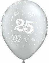 DM Balloon Company Luftballons Silberhochzeit 25