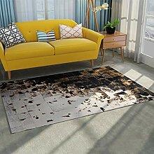 DMGY Luxus Moderner Teppich für Wohnzimmer,