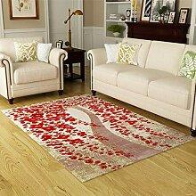 DMGY Moderner Luxus-Teppich für Wohnzimmer,