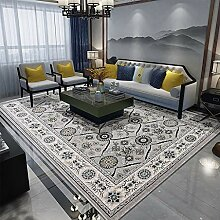 DMGY Rutschfester Luxus-Teppich für Wohnzimmer,