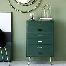 DMMW-Home 6 Schubladen Dresser Night Stand Schrank