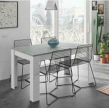 Dmora Caruso Tisch ausziehbar für Esszimmer,