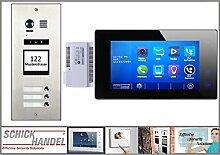 DMR21/I/S3 fe 170° Türklingel Komplettset Videospeicher +T47MG-V2 B Monitor 3 Monitore