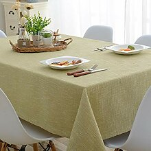 dnbkuajing1 Tischdecke Abwaschbar Baumwolle Und