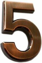 Do4U 3D-Hausnummer, selbstklebende Türnummer mit