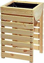 dobar 29164e Dekoratives Hochbeet aus Holz