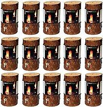 dobar 35133 Feuerstellenzubehör Brennstoffe Holz