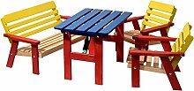 dobar Kindersitzgarnitur mit Kindertisch