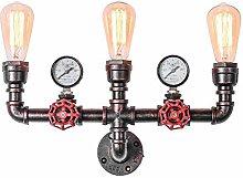DOCJX Industrial Wasserrohr Wandlampe E27