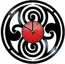 Doctor Strange Emblem Art Wanduhr aus Vinyl –