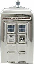 Doctor Who 50. Jahrestag Silber Tardis Keramik