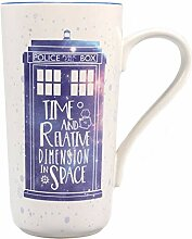 Doctor Who Latte Macchiato Becher Galaxy -