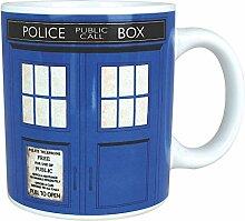 Doctor Who Tardis Kaffeebecher - Tasse Kaffeetasse Dr. Who Becher