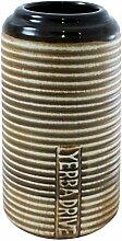 Dodlo Mate Becher Drive Honig für Fahrer | mit Streifen | leicht zu reinigen | mit der Aufschrift Yerba Drive | aus Keramik