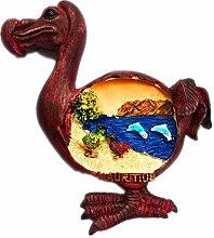 Dodo Bird Mauritius 3D Kühlschrank