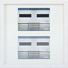 Dörr Art Gallery Bilderrahmen, Metall, weiß, 7 x
