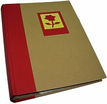 Dörr Fotoalbum Green Earth, Motiv: rote Blume,