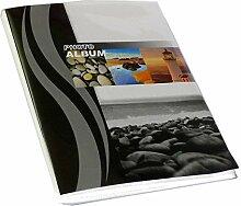 Dörr Wave Leuchtturm Fotoalbum, schwarz
