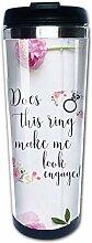 Does This Ring Make Me Look Engaged Coffee Mug -