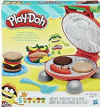 DOH Play Burger Barbeque, Inklusive 5 x Wannen,