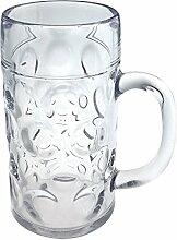DoimoFlair Bierbkrüge aus Kunststoff Mehrweg