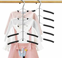 DOIOWN Kinder-Kleiderbügel, rutschfest, für