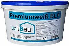 doitBau Innenfarbe Premium ELF 12,5L Weiß
