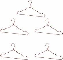 Doitool 5 Stück Metall-Kleiderbügel