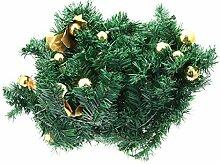 DOITOOL künstlicher Blattkranz Weihnachtskranz