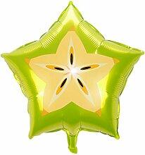 Doitsa 5pcs 18Zoll Ballons Folienballon Obst Form
