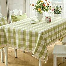 Doitsa tischdecke wasserdicht klöppeln spitzen tisch decken küche dinning tabletop dekoration 140x140cm rechteck / längliche