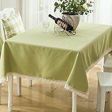 Doitsa tischdecken wasserdicht klöppeln spitzen tisch decken küche dinning tabletop dekoration 140x140cm rechteck / längliche