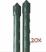 Dokado 20 x Pflanzstab 180cm Pflanz-Stab Rankhilfe