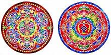 DollsofIndia Rangoli-Aufkleber – Durchmesser je