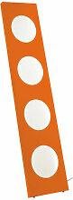 Dolmen Stehleuchte LED / L 40 cm x H 180 cm -