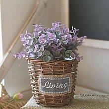 Dolo künstliche Blume, Bonsai, Topf,
