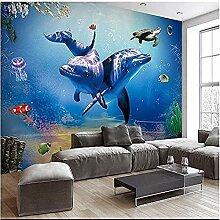 Dolphin Turtle Unterwasserwelt für Wände