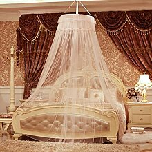 Dome, Decke Moskitonetze, 1.2 / 1.5 / 1.8m Bett, Einzelzimmer Doppelzimmer, Haus, Prinzessin, einzelne Tür , 1