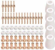 Domilay 65 StüCke Plasma Schneider Tip Elektroden