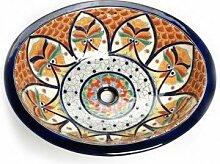 Dominga - Mexikanisches Ovales Waschbecken | Oval