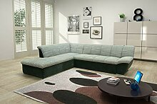 Domo Colection Splash Ecksofa inkl. Schlaffunktion
