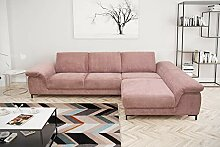 DOMO Collection Amena Ecksofa | Eckcouch in L-Form
